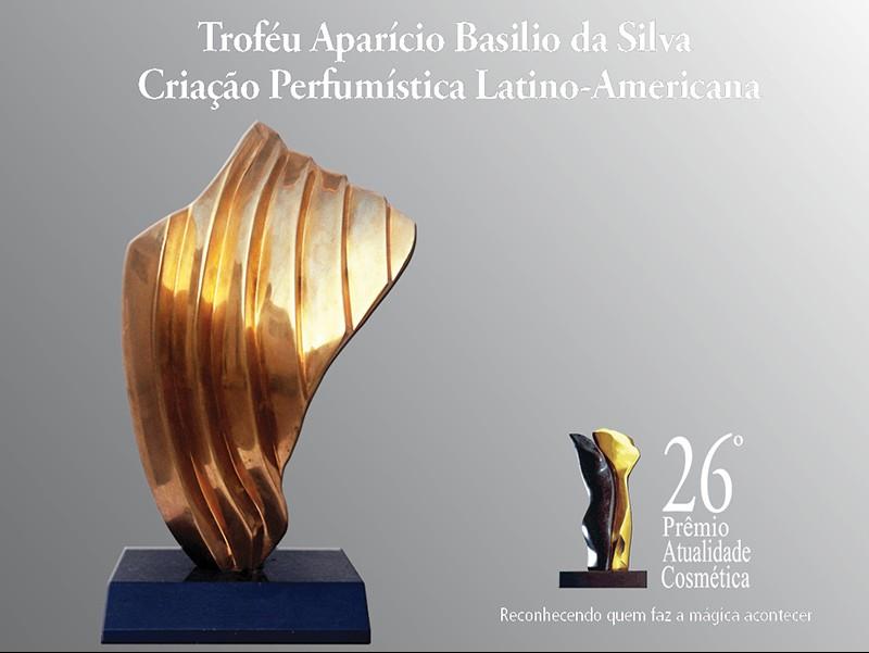 As fragrâncias e perfumistas finalistas do Troféu Aparício Basilio da Silva, de Criação Perfumística, do Prêmio Atualidade Cosmética