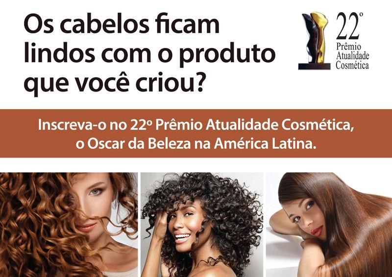 As linhas e produtos para os cabelos finalistas do Pr�mio Atualidade Cosm�tica 2014