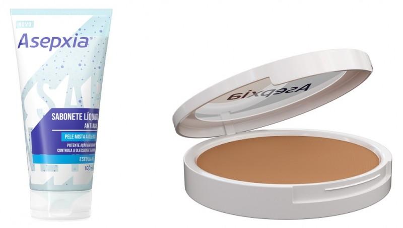 Asepxia amplia portfólio e traz novidades para cuidado com a pele mista e oleosa