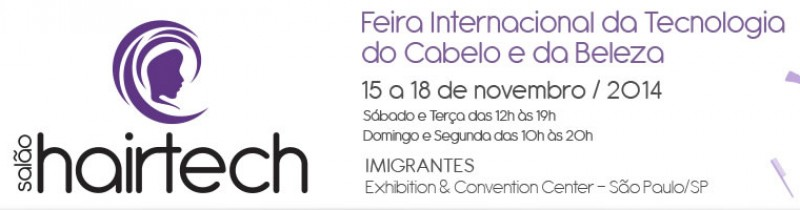 At� ter�a-feira acontece em S�o Paulo a feira Sal�o Hairtech