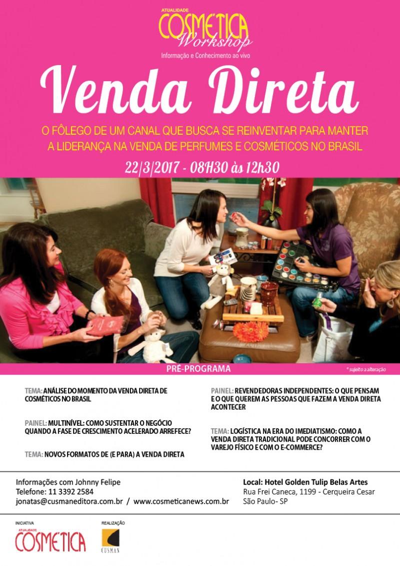 Atualidade Cosmética Workshop - Venda Direta