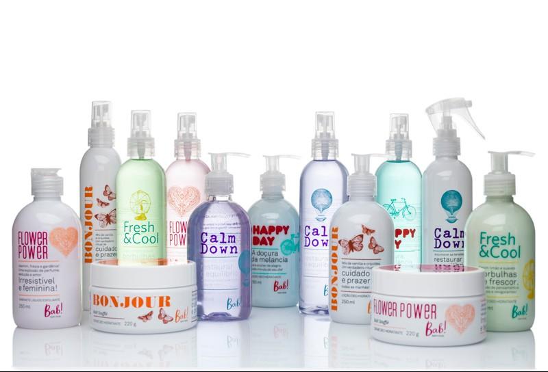 Bab! bath+body, marca de cosm�ticos , chega � The Beauty Box