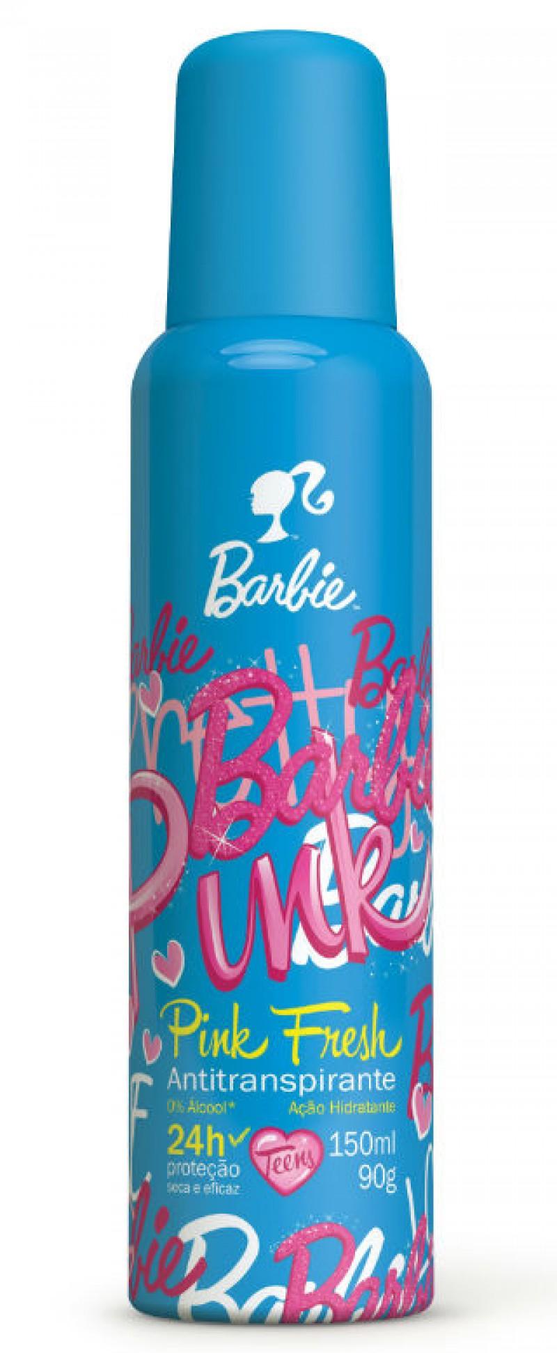 Barbie aposta no p�blico teen com lan�amento de desodorantes aerossol