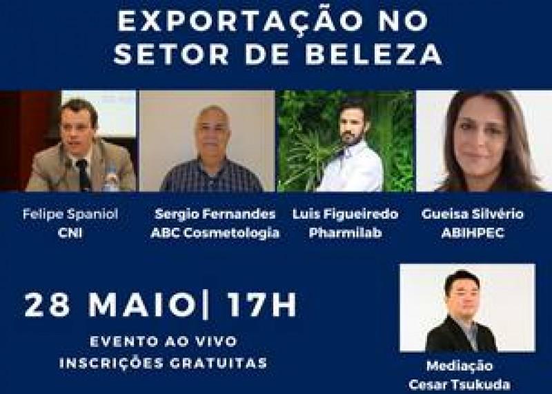 Beauty Fair promove hoje, as 17h, webinar sobre exportação