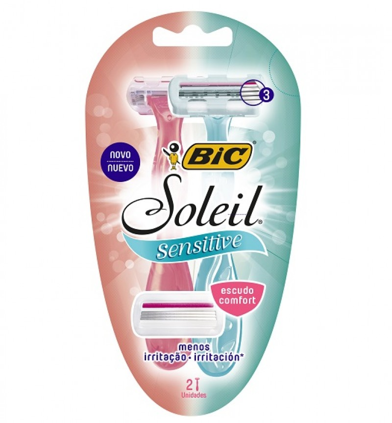 BIC apresenta novo depilador com tecnologia contra irritação