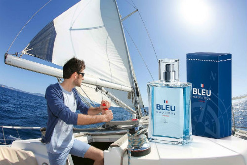 Bleu Nautique � a nova fragr�ncia masculina da Jequiti