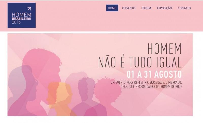 Casa de fragrâncias Drom participa do evento Homem Brasileiro 2016,