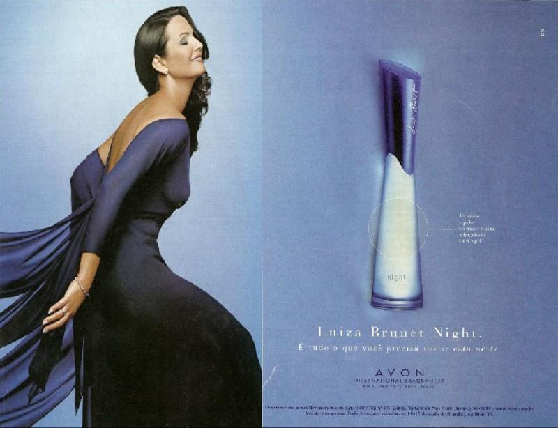 Cl�ssicos da perfumaria - Luiza Brunet, Avon: Elegante como sempre