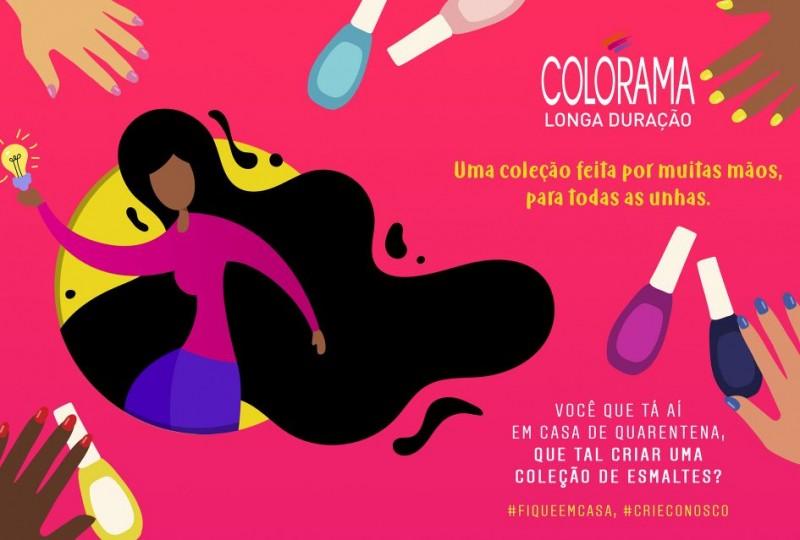 Colorama convida consumidoras para criar nova coleção de esmaltes