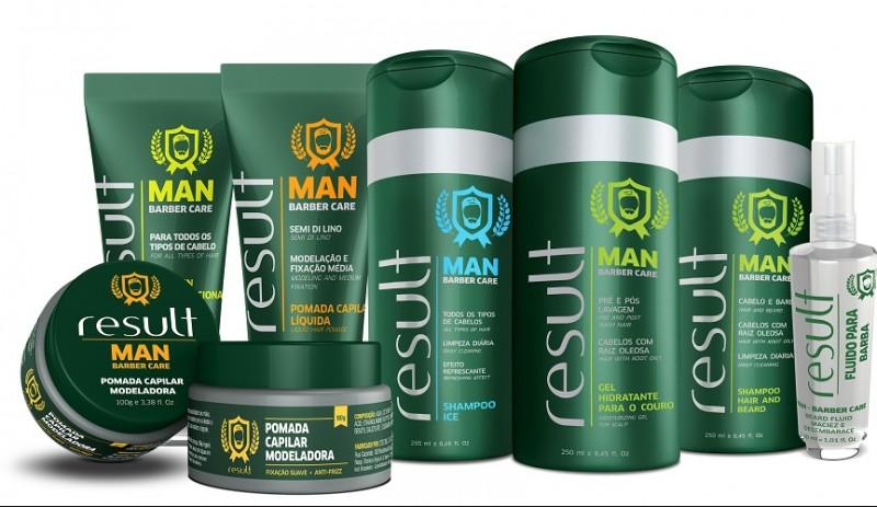 Com demanda masculina crescente no mercado de beleza, a Result Cosmetics lança nova linha