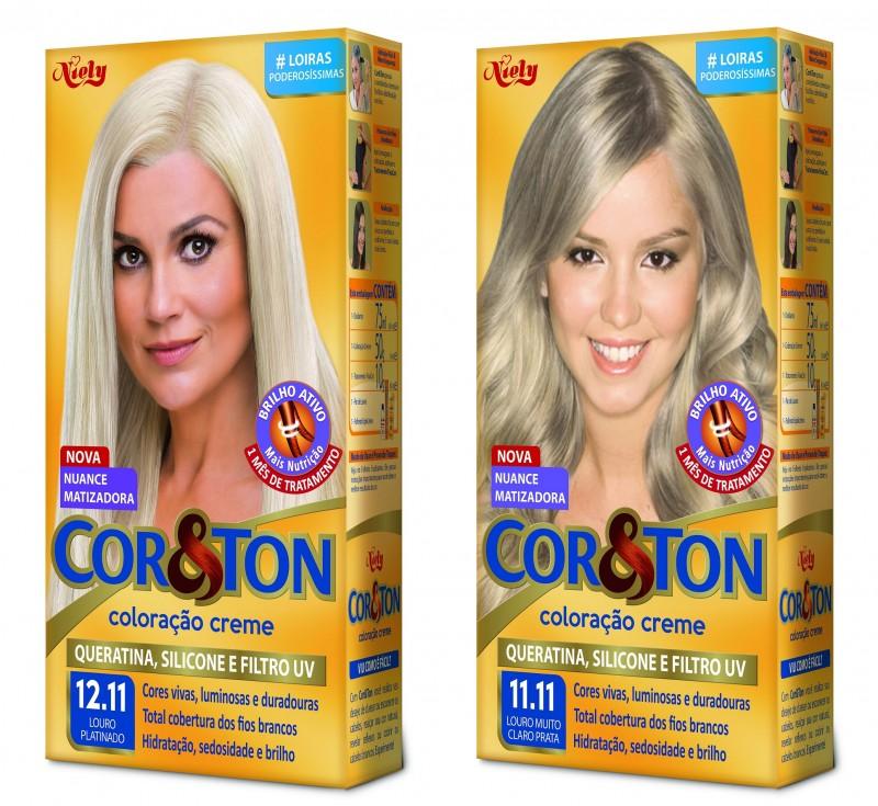 Cor&Ton acrescenta duas novas nuances platinadas ao portfólio