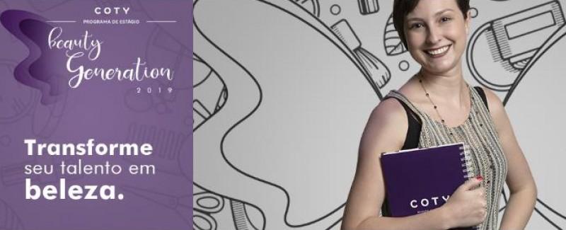 Coty lança programa de estágio Beauty Generation no Brasil