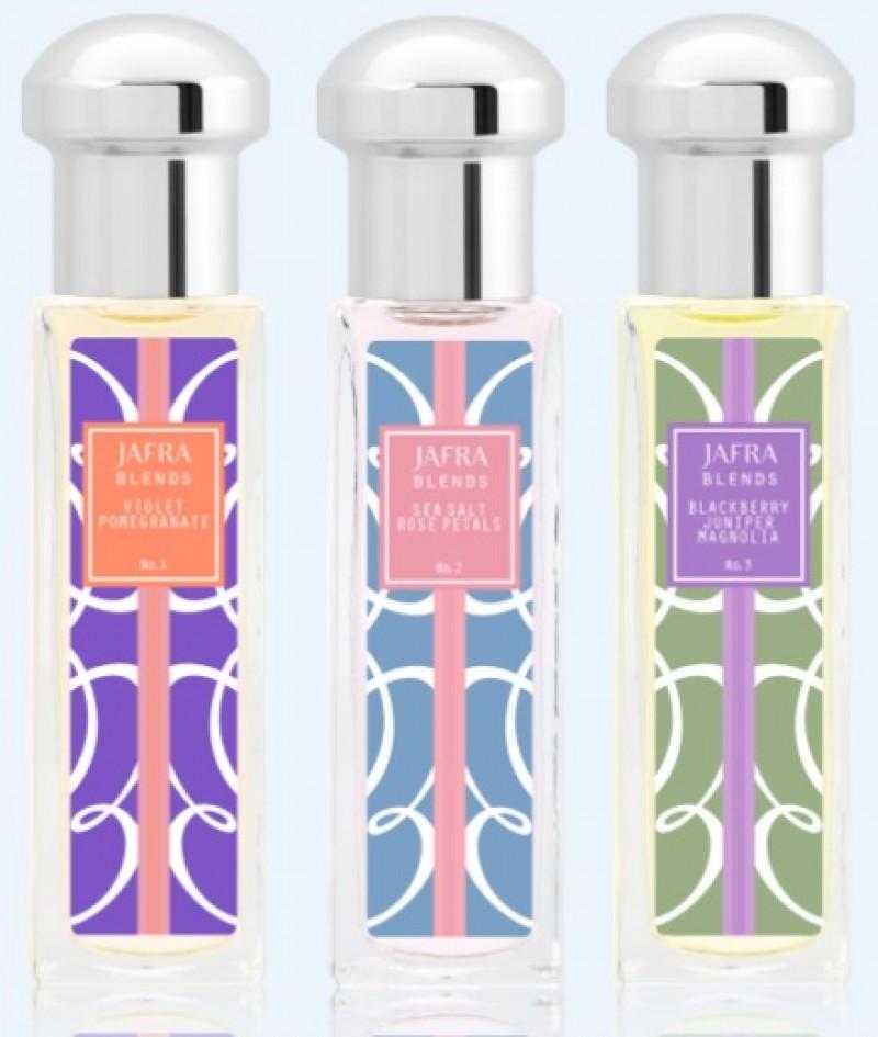 Crie sua pr�pria fragr�ncia com as novas col�nias Jafra Blends