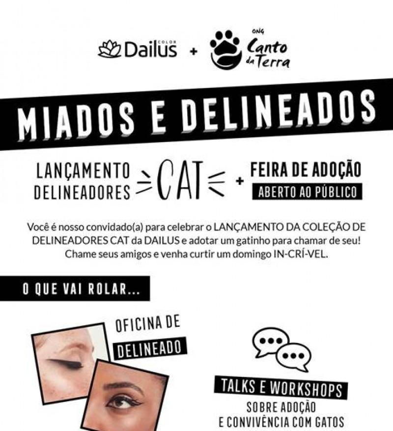 Dailus promove feira de adoção de gatos