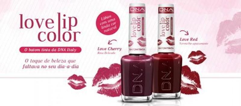 DNA Italy entra no mercado de lábios com o lançamento de Love Lip Color Batom Tinta
