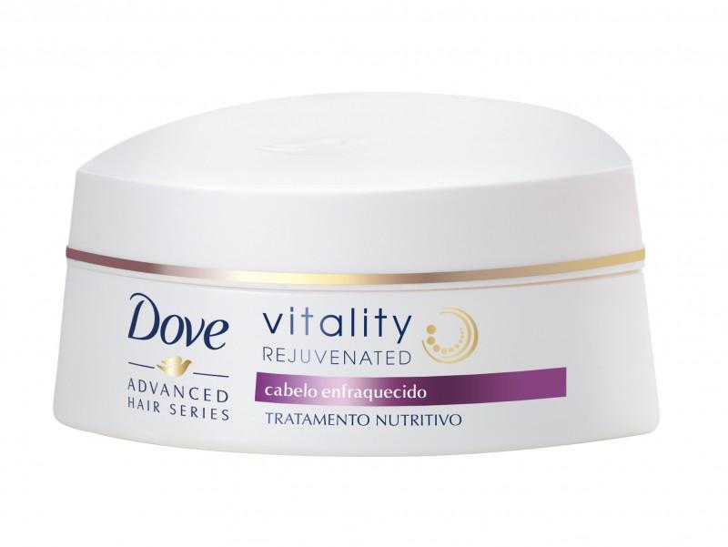 DOVE lan�a linha especial de produtos para recuperar a vitalidade dos cabelos