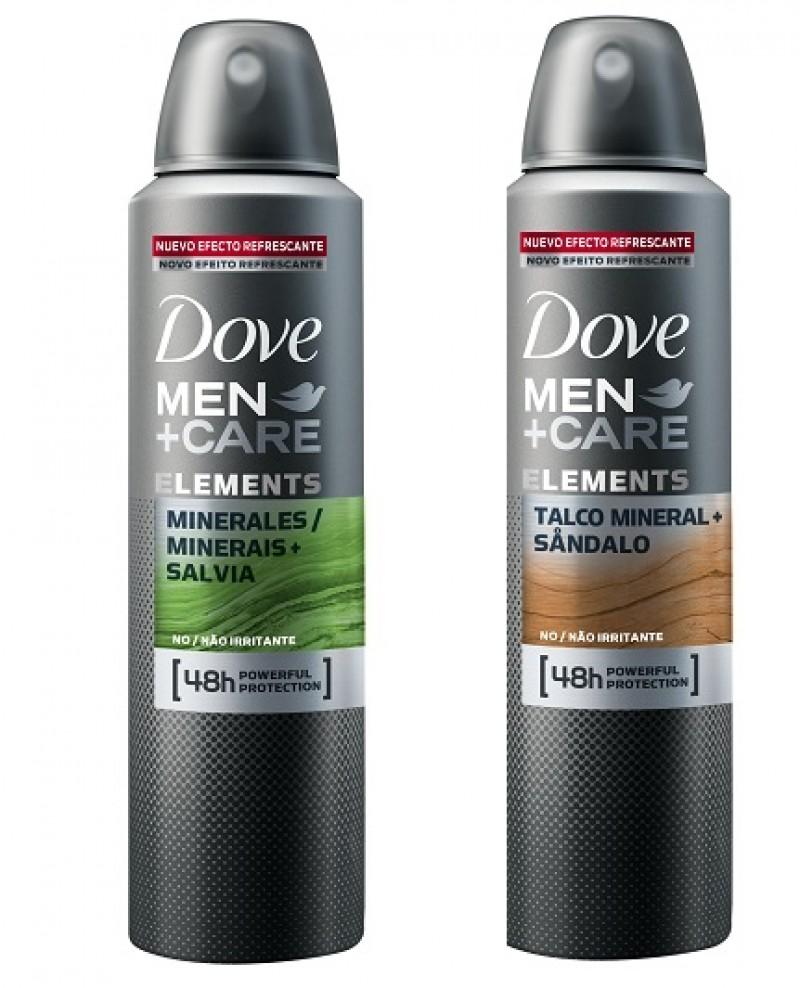 Dove Men + Care relança portfólio de desodorantes