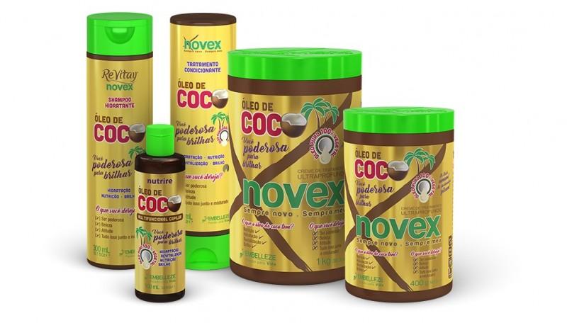 Embelleze lança família com óleo de coco para sua linha Revitay Novex