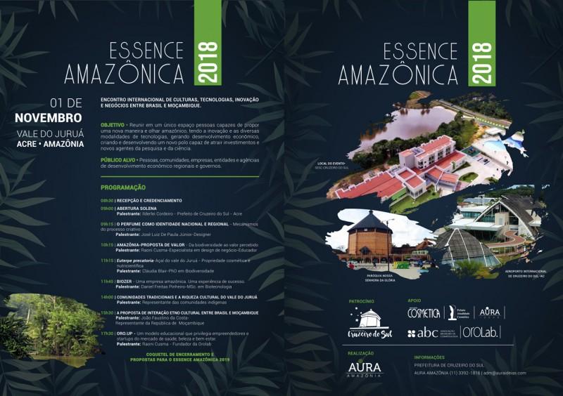 Essence Amazônica 2018. O Encontro da perfumaria e beleza do Acre!