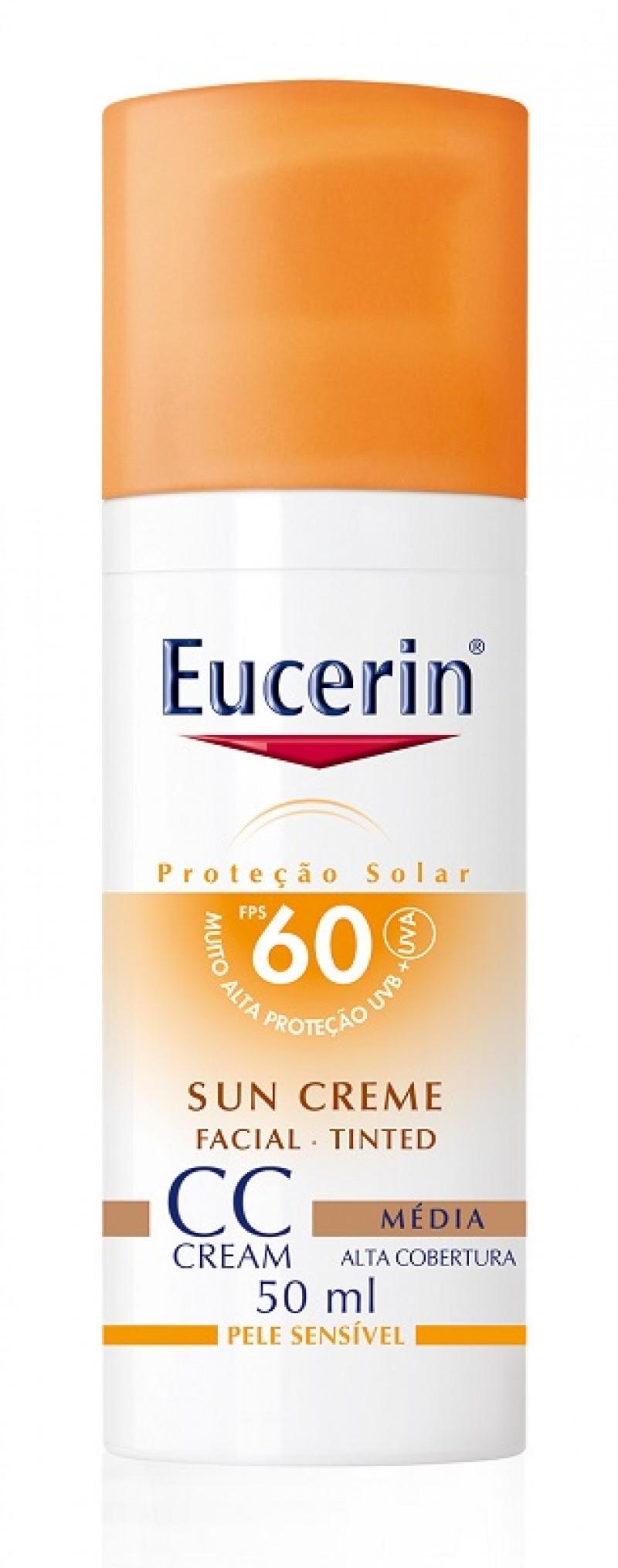 Eucerin lança primeiro protetor solar facial CC Cream