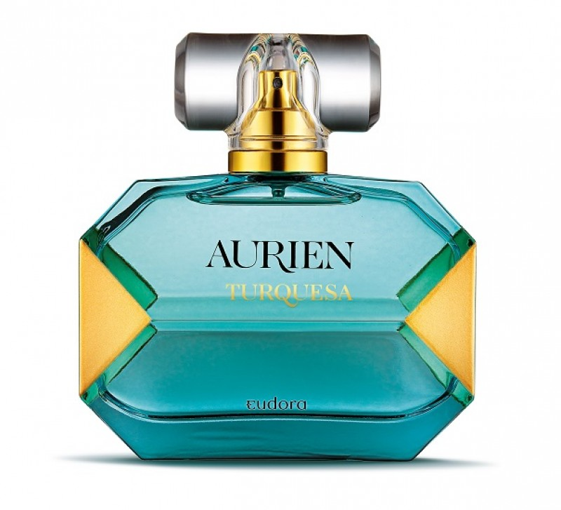 Eudora apresenta a fragrância Aurien Turquesa