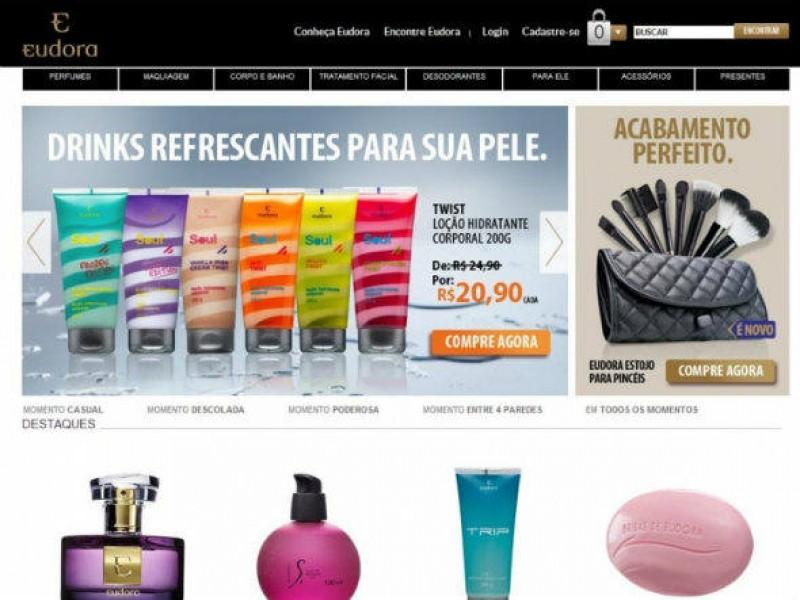 Eudora apresenta novo e-commerce com foco nos lan�amentos da marca