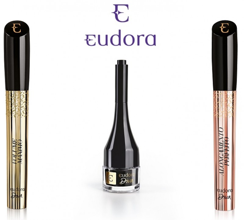 Eudora lança nova coleção para a linha Diva com duas máscaras e um delineador