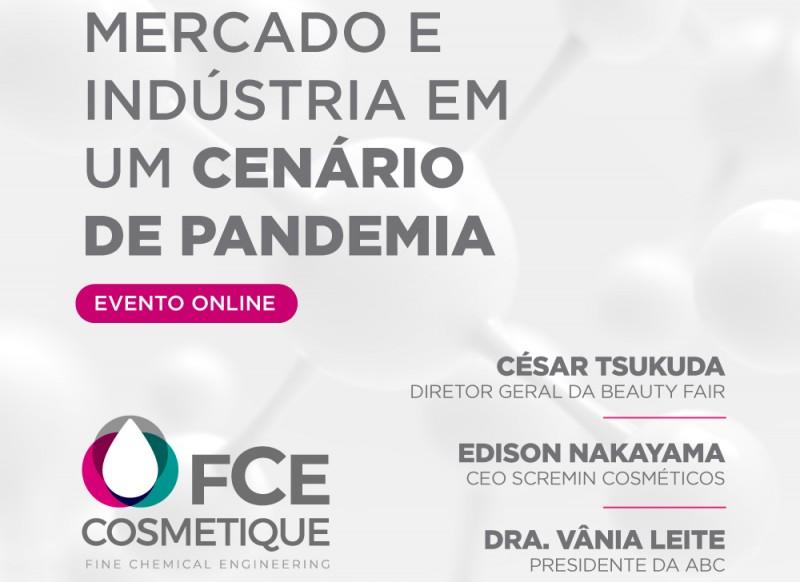 FCE Cosmetique promove webinar hoje, (7/4), as 16h