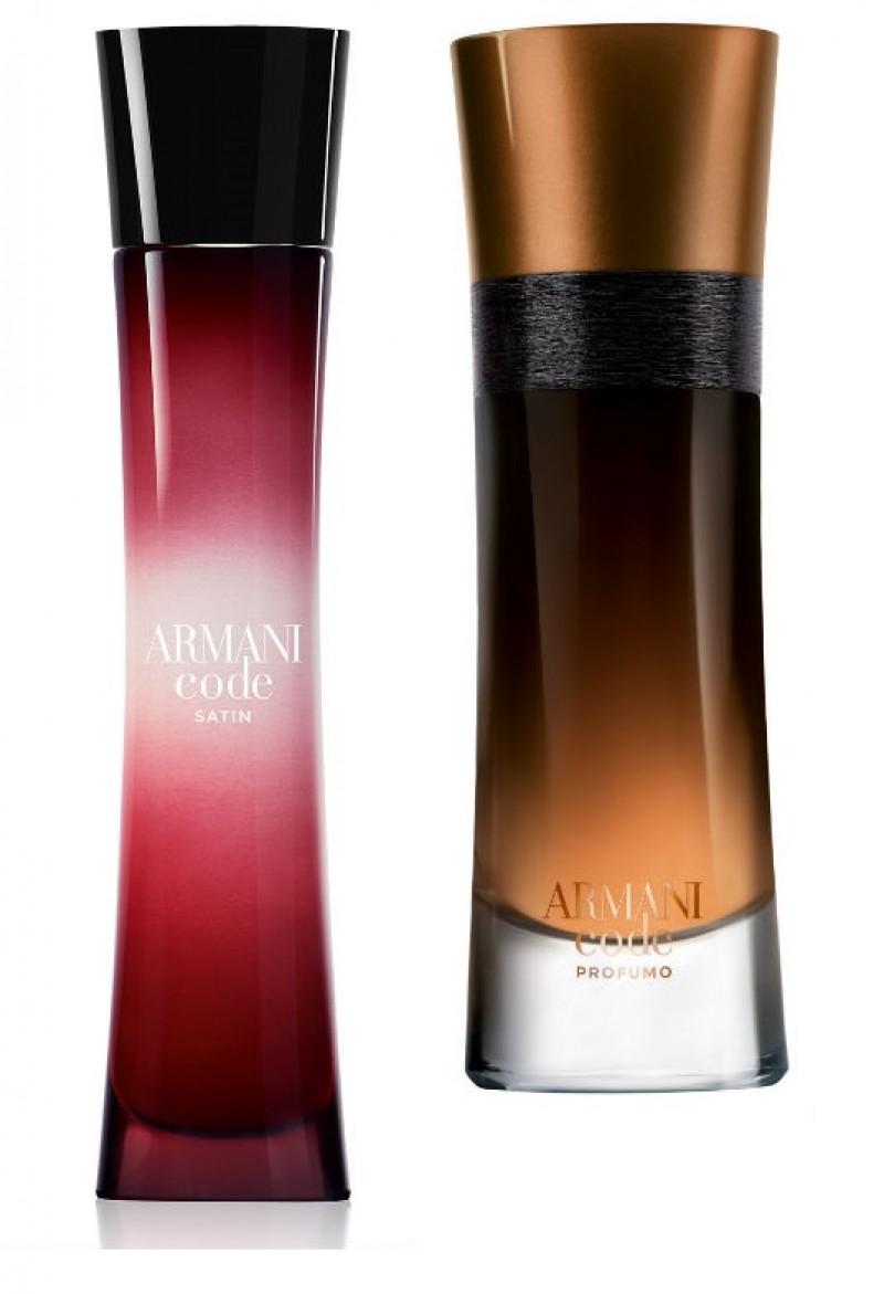 Giorgio Armani apresenta duas novas fragrâncias