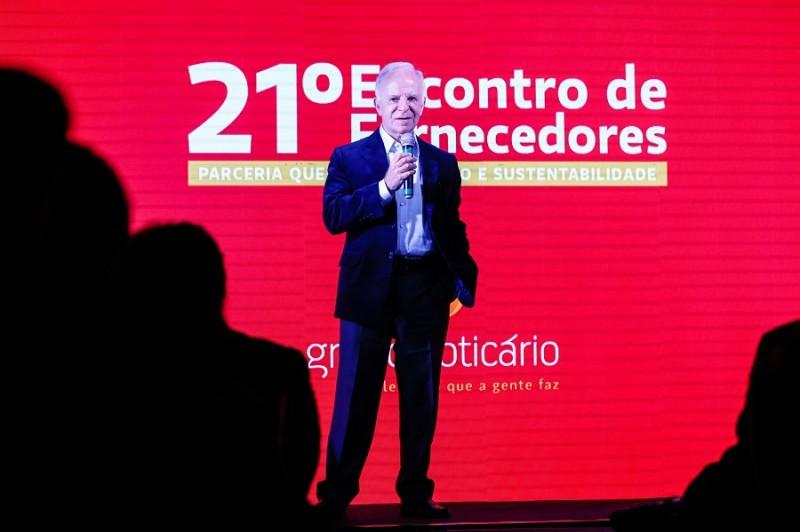 Grupo Boticário destaca parceiros durante o 21º Encontro de Fornecedores