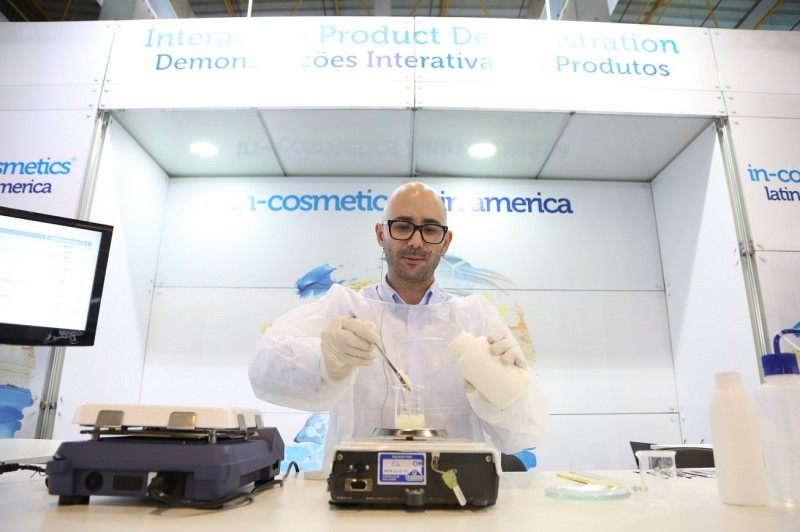 in-cosmetics Latin America 2018: uma plataforma completa