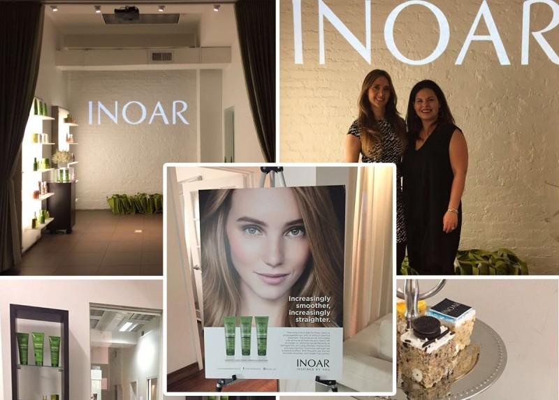 Inoar apresenta sua marca para a imprensa de beleza novaiorquina