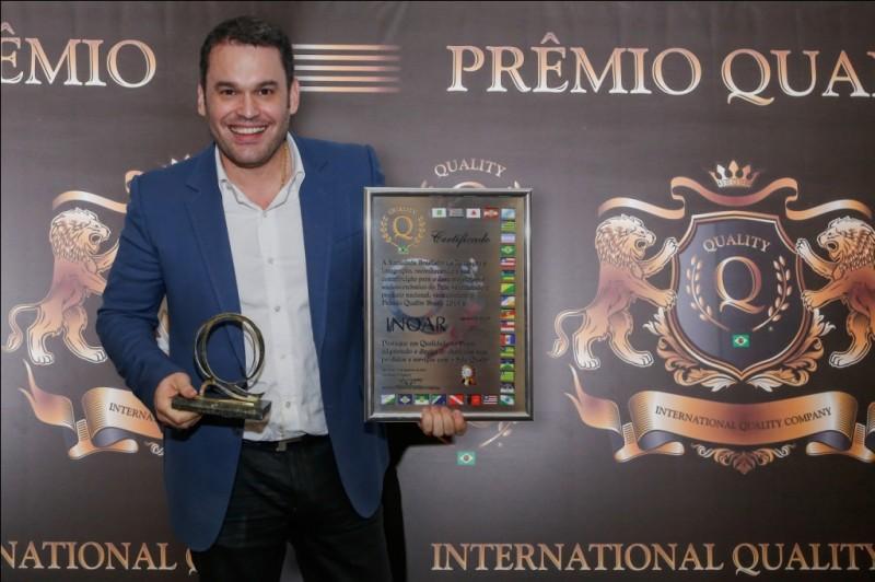 Inoar Cosm�ticos recebe Pr�mio Quality Brasil 2014