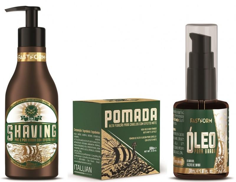 Itallian Hairtech lança linha específica para mercado masculino com três produtos