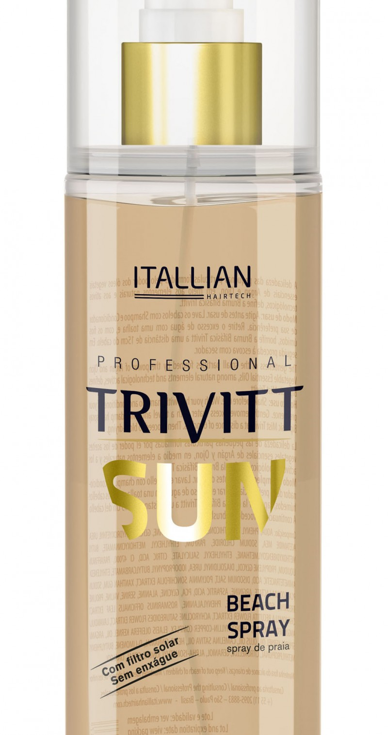 Itallian Hairtech lan�a o Beach Spray Trivitt Sun