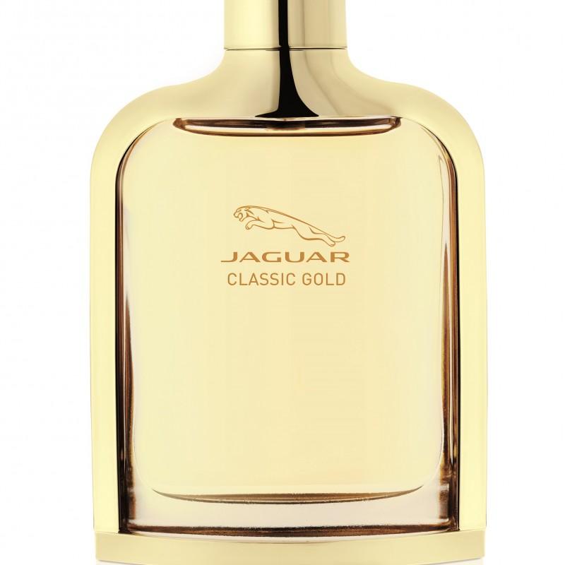 Jaguar Classic Gold: novo perfume de Jaguar