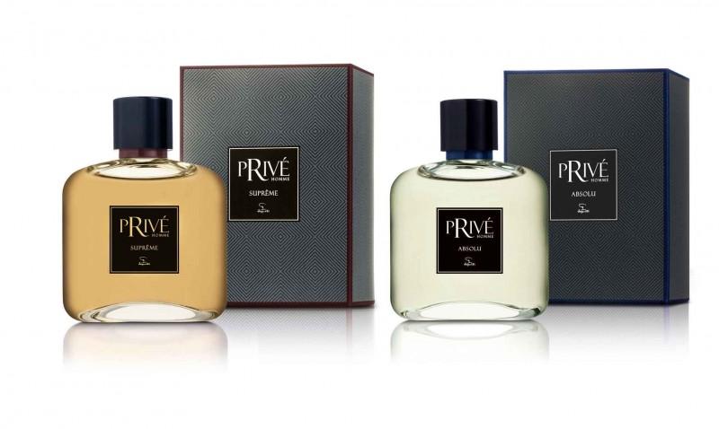 Jequiti lan�a os perfumes Priv� Absolu e Priv� Supr�me