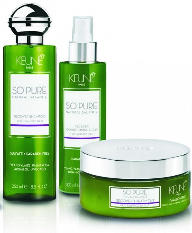 Keune apresenta linha de terapia capilar SO PURE Recover