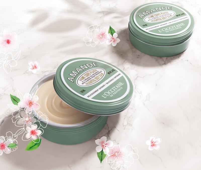 L'Occitane en Provence lança novos produtos para as linhas Manteiga de Karité e Óleo de Amêndoas