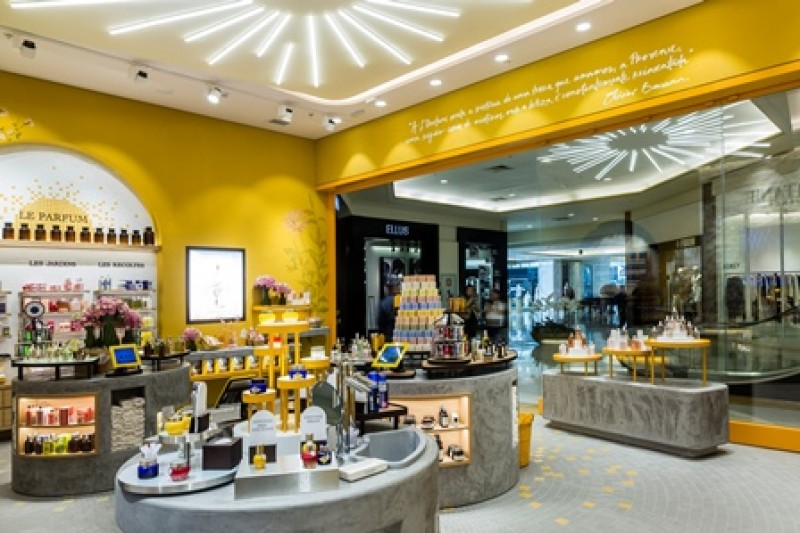 L�Occitane en Provence lan�a primeira loja conceito no Brasil