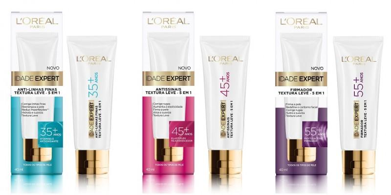 L'Oréal Paris apresenta o Idade Expert