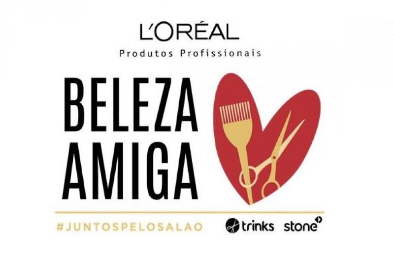 L'Oréal Produtos Profissionais cria plataforma Beleza Amiga #juntospelosalão