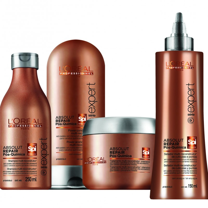 L'Or�al Professionnel lan�a linha Absolut Repair P�s Qu�mica