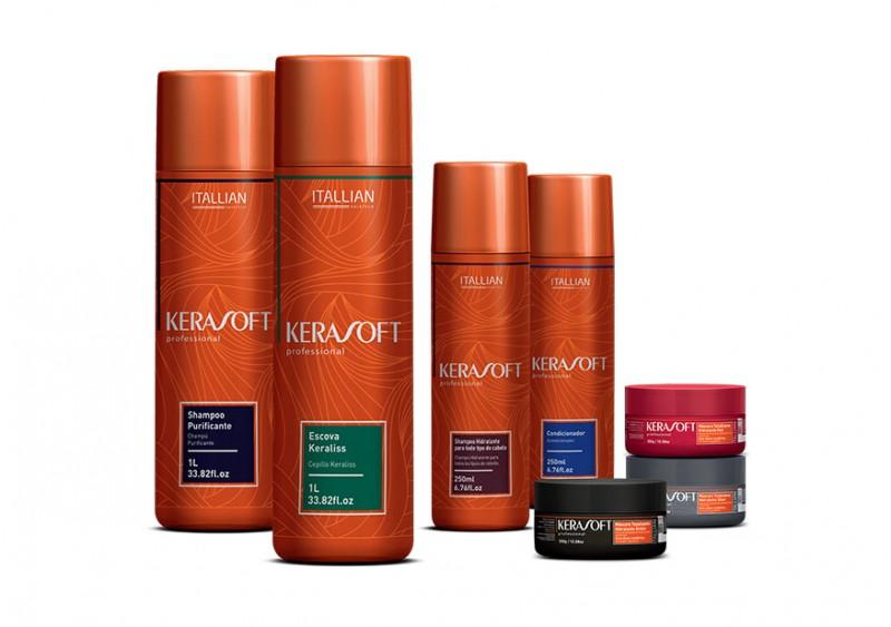 Lan�amento Beauty Fair: Itallian Hairtech apresenta linha Kerasoft com �leos lend�rios e preciosos