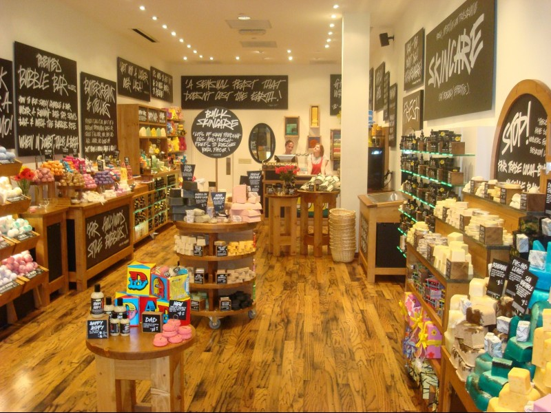 Lush Cosm�ticos entra em disputa legal com a Amazon no Reino Unido