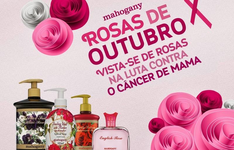 Mahogany anuncia a campanha Rosas de Outubro, de apoio � luta contra o c�ncer de mama