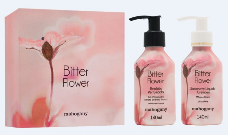 Mahogany apresenta novidade da fragrância Bitter Flower