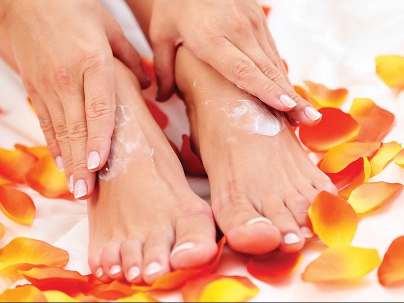 Mercado de cuidados com os pés - Um passo de cada vez