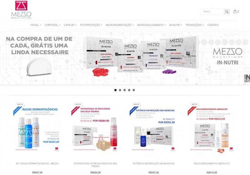 Mezzo Dermocosméticos abre seu e-commerce