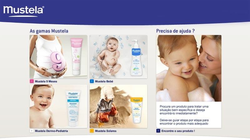Mustela lan�a website no Brasil